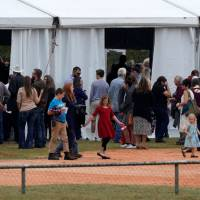 Hundreds converge on small Texas town for first Sunday service since church massacre