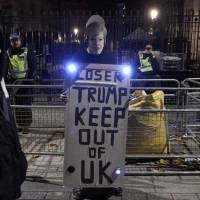 A year of Trump's controversial foreign policy strains U.S. 'special relationship' with Britain