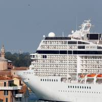 Italy rules big cruise ships must ply back route to pose less threat to fragile Venice