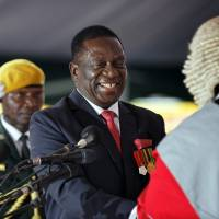 Mnangagwa the 'Crocodile' sworn in as Zimbabwe's new president