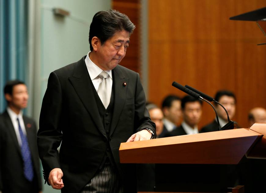 Abe's Cabinet approval rating improves, but constitutional reform still unpopular, survey says