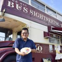 Iconic London double-decker bus finds new life as Nagasaki cafe