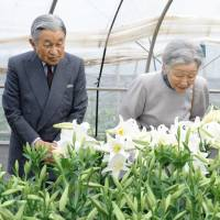 Emperor and Empress visit lily farm and school to cap three-day tour of remote isles