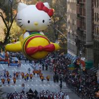 Hello Kitty and Pikachu recruited to back Osaka's bid to host the 2025 World Expo