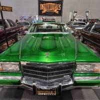 Bling is the thing at the Lowrider Super Show, the biggest event of the year for Japan's lowrider community. | YOSHIAKI MIURA