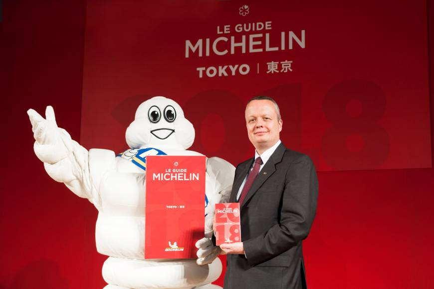 Michelin dishes out new stars in 2018 Tokyo guide