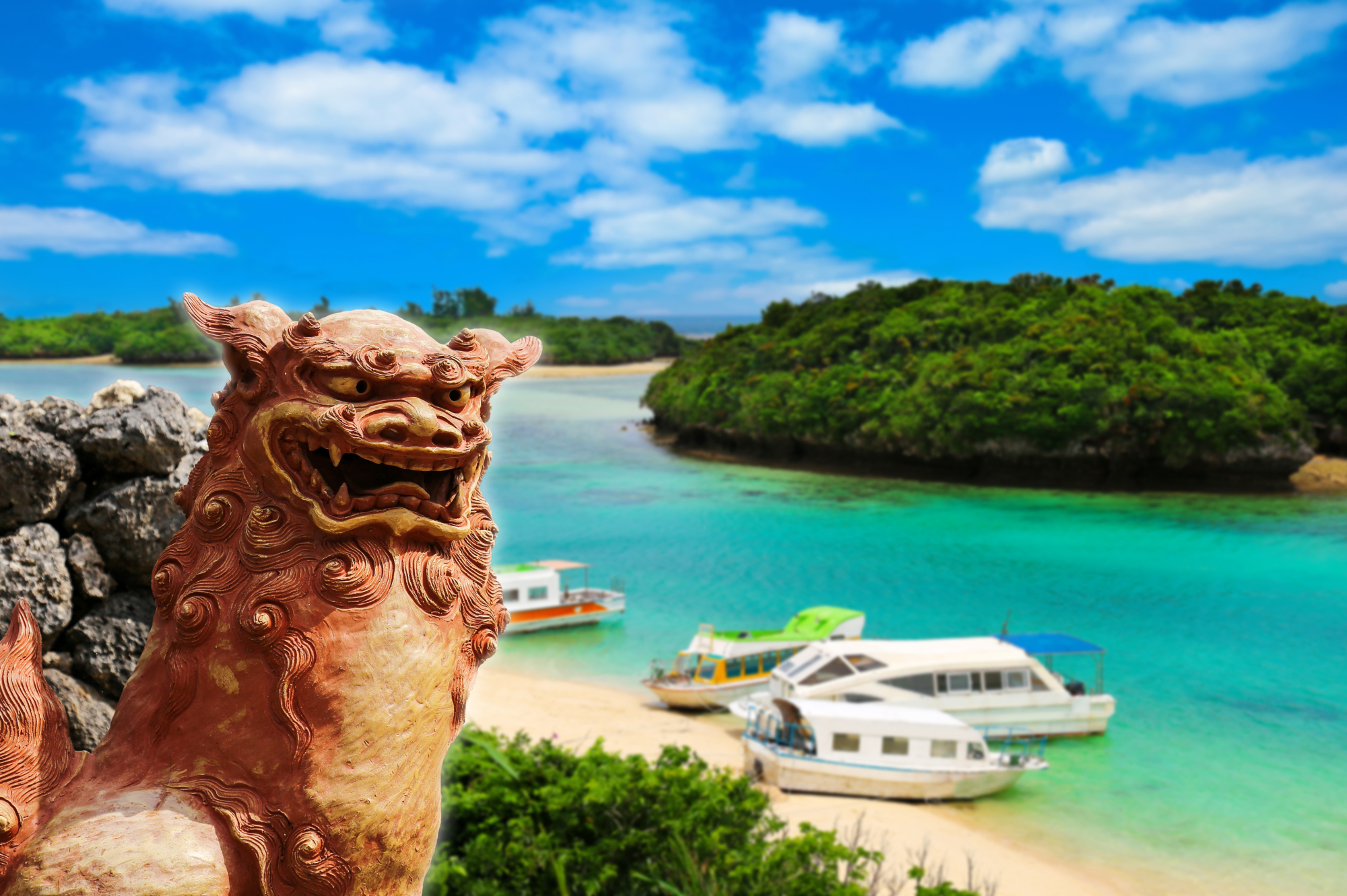 The number of visitors to Okinawa is surging, at a pace that could see the southern tropical islands soon overtake Hawaii as a tourism destination. | ISTOCK
