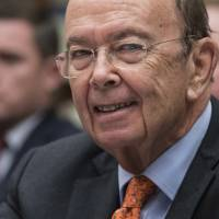 Commerce Secretary Wilbur Ross appears Oct. 12 before the House Committee on Oversight and Government Reform to discuss preparing for the 2020 Census, on Capitol Hill in Washington. Newly leaked documents show that Ross has a stake in a shipping company that does business with a gas producer partly owned by the son-in-law of Russian President Vladimir Putin, according to the International Consortium of Journalists. | AP