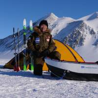 Adventurer Yasunaga Ogita begins solo trek to South Pole without resupplies