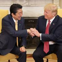 Abe and Trump to rekindle friendship, but not all see rapport as positive for Japan, survey says