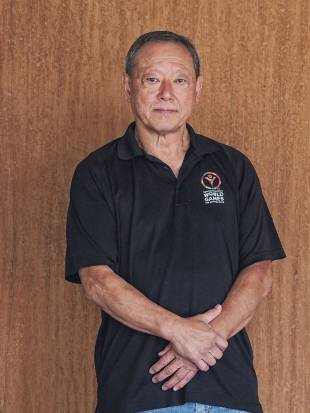 Judo instructor Kenji Osugi