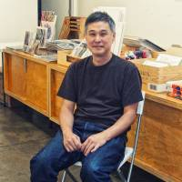 Eric Nakamura is the founder of the Giant Robot store and GR2 gallery. | MANAMI OKAZAKI