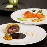 Luxurious French cuisine in the heart of Osaka