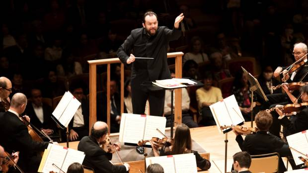 The new head of the Boston Symphony Orchestra takes a bow in Japan