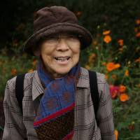 Park life: Eighty-six-year-old Hiroe Nomura says Shoin Jinjamae is more intimate than many places in Tokyo. | KIT NAGAMURA