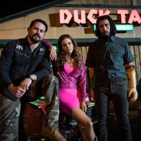 Get lucky: Channing Tatum, Riley Keough and Adam Driver star in director Steven Soderbergh's latest film, 'Logan Lucky.' Soderbergh bypassed conventional channels when it came to the film's release, a decision that he says has paid off nicely for cast and crew. | © 2017 INCARCERATED INDUSTRIES INC. ALL RIGHTS RESERVED.