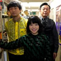 All in the family: Director Yukihiro Morigaki (left) says he scored exactly the actors he wanted for his feature directorial debut, 'Goodbye, Grandpa!' Yukino Kishii and Ken Mitsuishi star in this dark comedy, which focuses on a funeral. | KAORI SHOJI