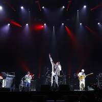Festival season: Suchmos performs at Summer Sonic in August. The band has seen their bookings go from small Shinjuku clubs to the big stages at major music festivals.   © SUMMER SONIC ALL RIGHTS RESERVED