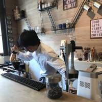 Bean there: Yosuke Yamashita does it all at Saiin Roasting Factory. | J.J. O'DONOGHUE