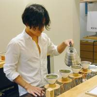 Green tea cafes aim to revive interest in a Japanese classic