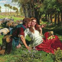 Perils of lust: 'The Hireling Shepherd' (1851) by William Holman Hunt (partial image). | PUBLIC DOMAIN