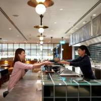 High-quality cuisine; airline upgrades fleet; state-of-the-art lounge