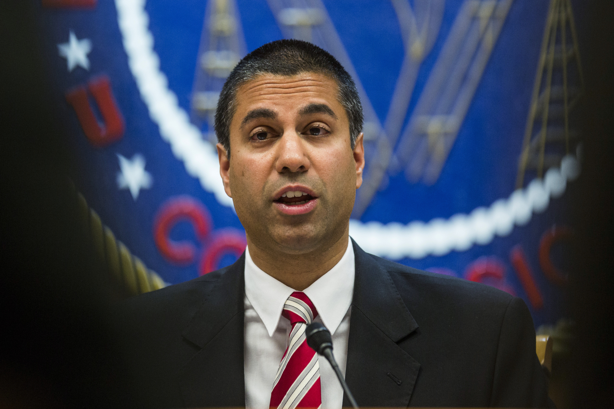 FCC Chairman Ajit Pai this week proposed a plan to eliminate Obama-era 'net neutrality' regulations aimed at compelling internet service providers to keep their networks open to all comers. | BLOOMBERG