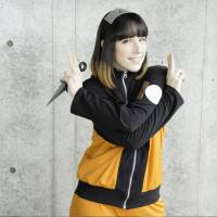American singer and seiyu voice actress Diana Garnet promoting 'Spinning World,' her theme song for anime hit 'Naruto Shippuden.'   SONY MUSIC 2015