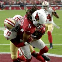 Cardinals receiver Larry Fitzgerald signs contract extension