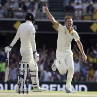 Steve Smith contributes masterful ton as England cracks in Ashes battle