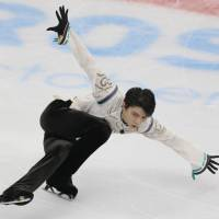 Olympic and world champion Yuzuru Hanyu on Friday pulled out of the NHK Trophy after injuring himself in a fall on Thursday. | AP