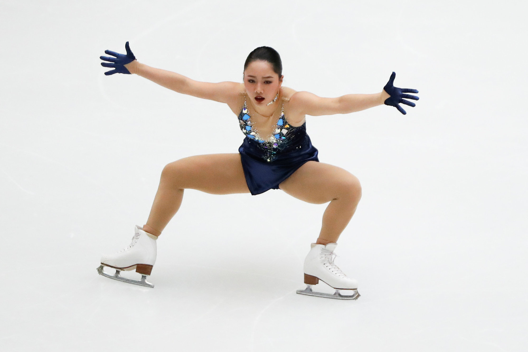 Wakaba Higuchi's fantastic free skate at the Cup of China in Beijing on Saturday night was not good enough to win the title in the eyes of the judges. | REUTERS