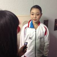 Nana Araki is in second place with 61.51 points after the women's short program. | JACK GALLAGHER
