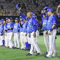 The Yokohama BayStars reached the Japan Series for the first time since 1998, despite finishing the regular season as the Central League's third-place team. | KYODO