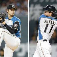 Fighters star Shohei Otani intends to move to Major League Baseball via the posting system during the offseason. | KYODO
