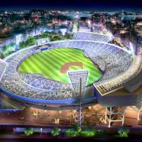BayStars unveil plans for Yokohama Stadium expansion, renovation