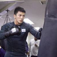 Middleweight champ Ryota Murata  training for first title defense