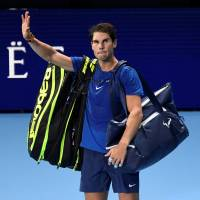 Rafael Nadal withdraws from ATP Finals after defeat to David Goffin