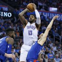Thunder star Paul George drops 42 on Clippers