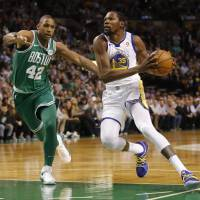 Celtics come back to down Warriors for 14th straight