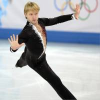Four-time Olympic medalist Evgeni Plushenko believes Yuzuru Hanyu will win gold in the men's figure skating competition at the 2018 Pyeongchang Games. | KYODO