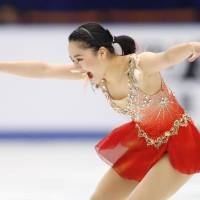 Wakaba Higuchi finishes second in women's short program at Cup of China