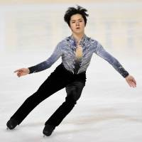 Shoma Uno in second place after short program at Internationaux de France
