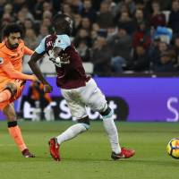 Liverpool thrashes West Ham to continue revival