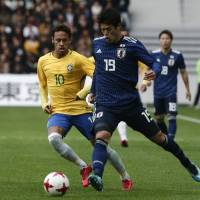 Brazil rolls by Japan in tune-up