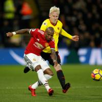 Goal-hungry United routs Watford