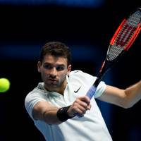 Grigor Dimitrov punches semifinal ticket at ATP Finals with blowout victory over David Goffin