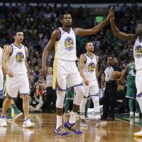 Indispensable leader Draymond Green's intensity pushes Kevin Durant, Warriors teammates