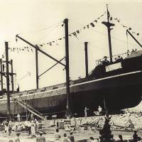 First Steel Ship 'Mikomaru'