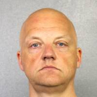 Volkswagen executive Oliver Schmidt, charged with conspiracy to defraud the United States over the company's diesel emissions scandal, is shown in this booking photo in Fort Lauderdale, Florida, last January. | COURTESY OF BROWARD COUNTY SHERIFF'S OFFICE / HANDOUT / VIA REUTERS
